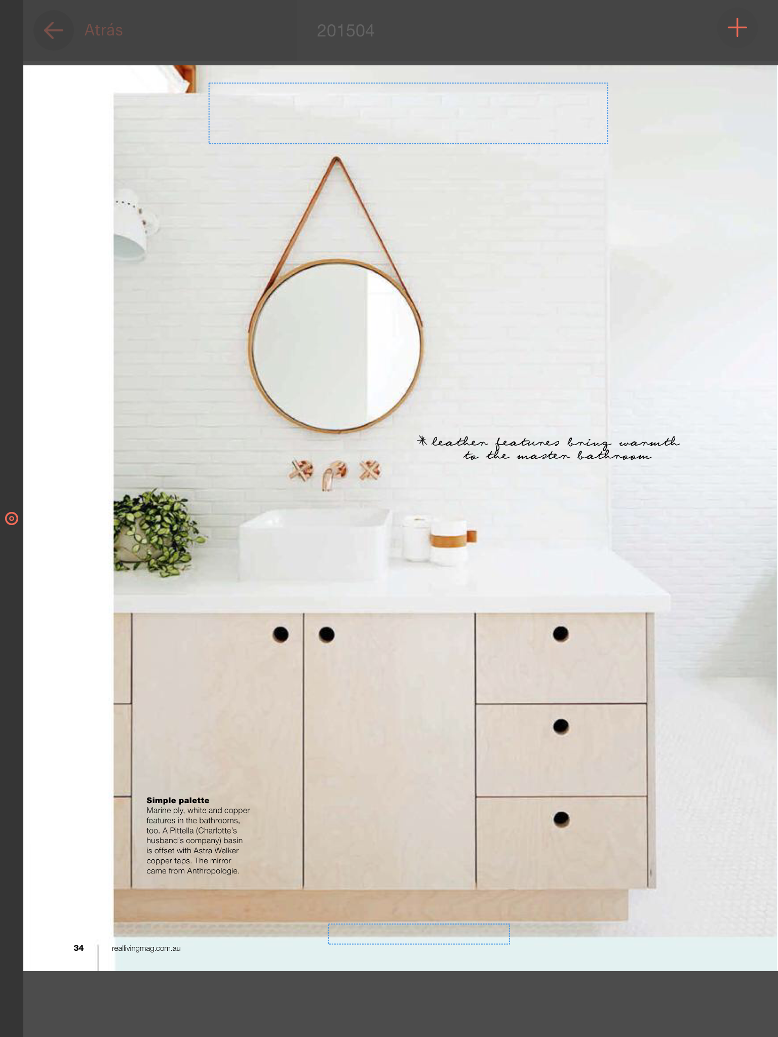 Love this scandinavian style bathroom