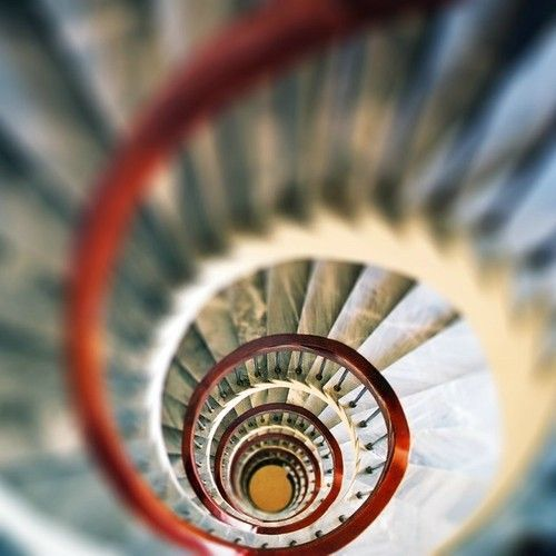 Stairs spiral.