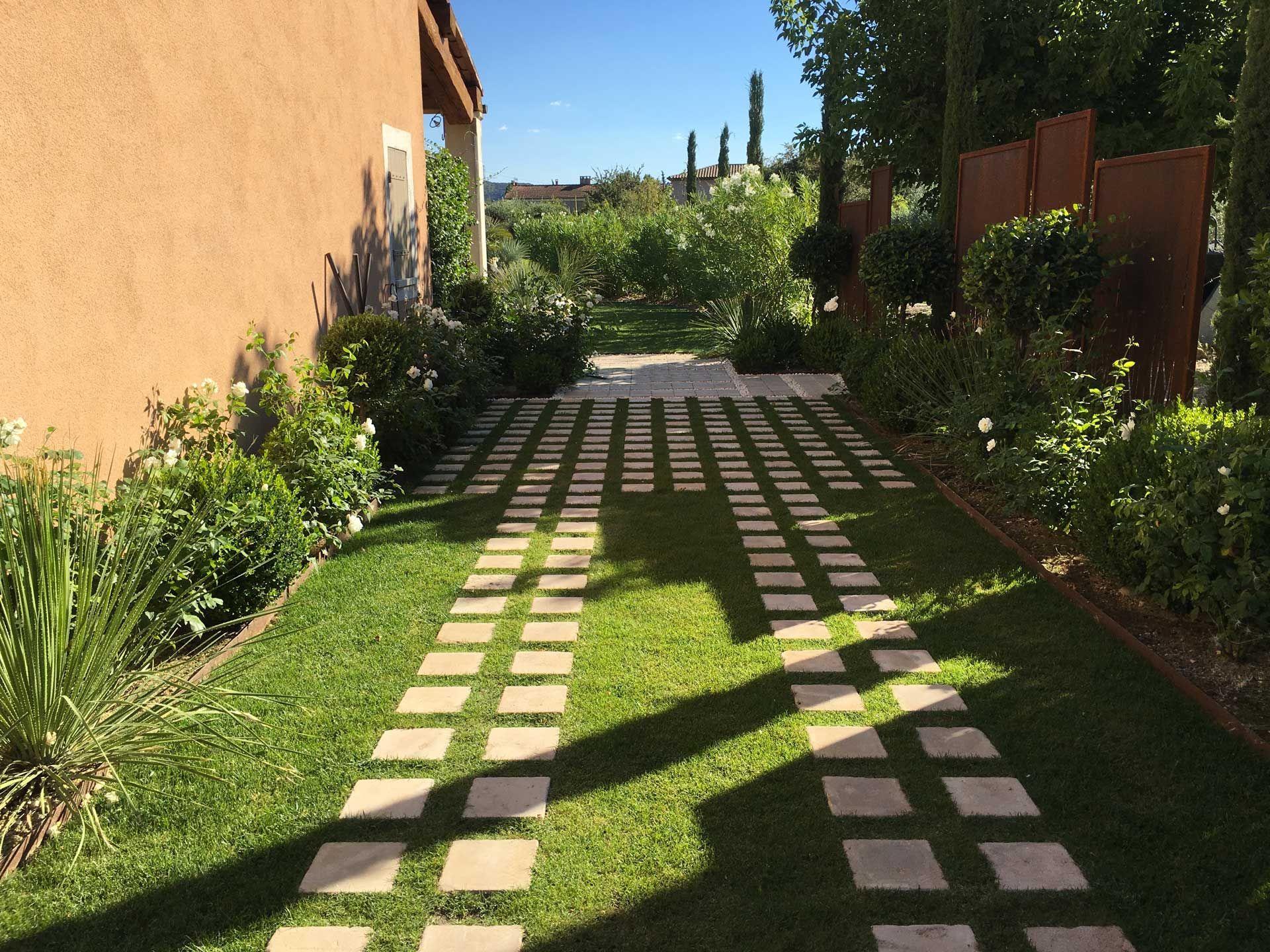 Aix-en-Provence, Création jardin privé, architecte paysagiste ...
