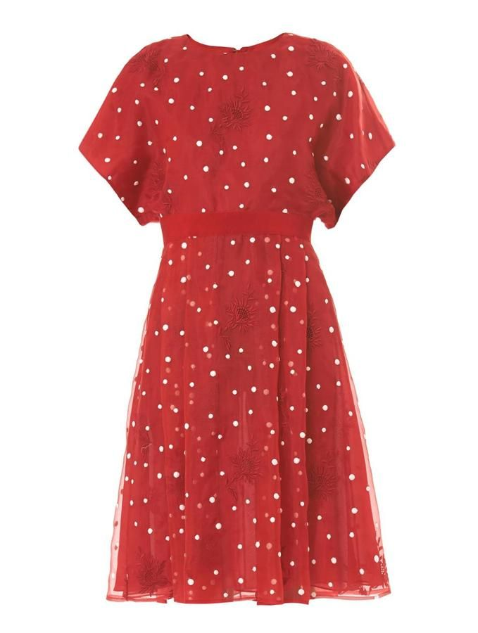 e20e8de9 Giambattista Valli Polka-dot organza dress on shopstyle.com | Womens ...