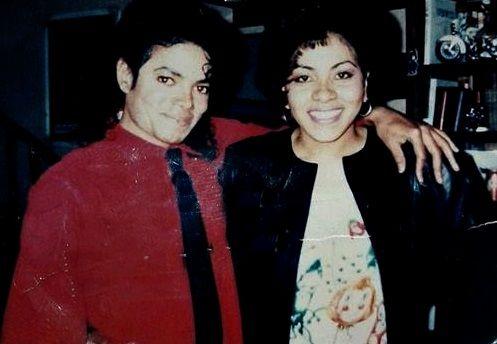 MJ & some lucky girl