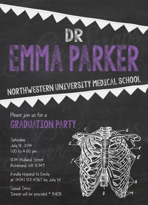 21 Medical School Graduation Invitation Wording Ideas – Medical School Graduation Invitation