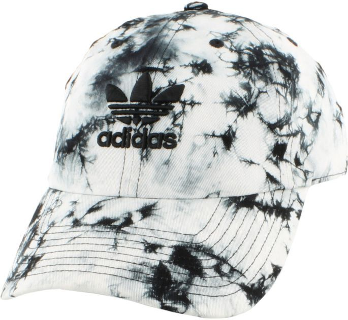adidas Originals Women's Relaxed Tie Dye Strapback Hat in