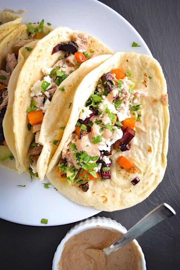 Or make tacos like these.   29 Beet Recipes That Will Make You A Believer