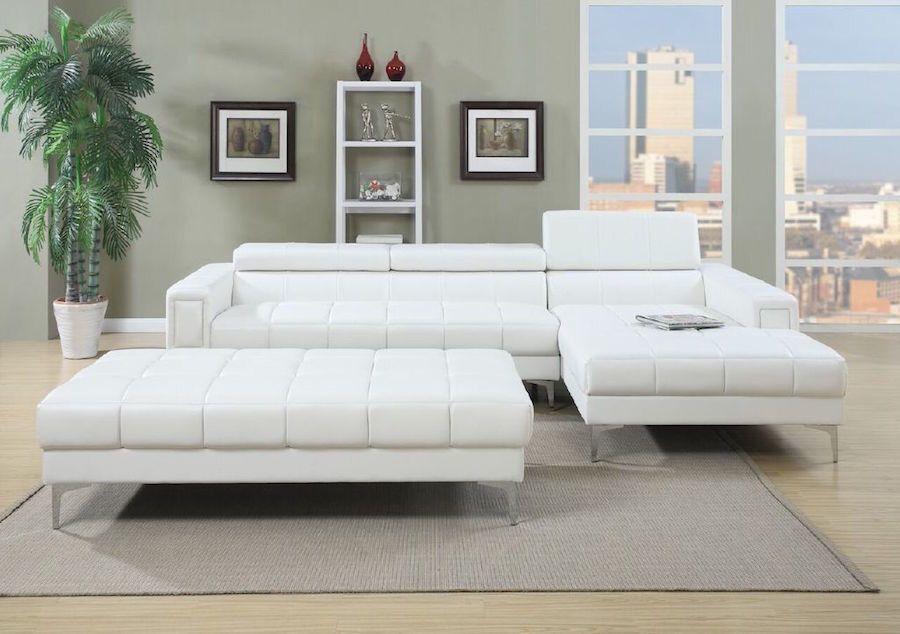 Sectional Sofa with Oversize Ottoman | Aspen Spa | Pinterest