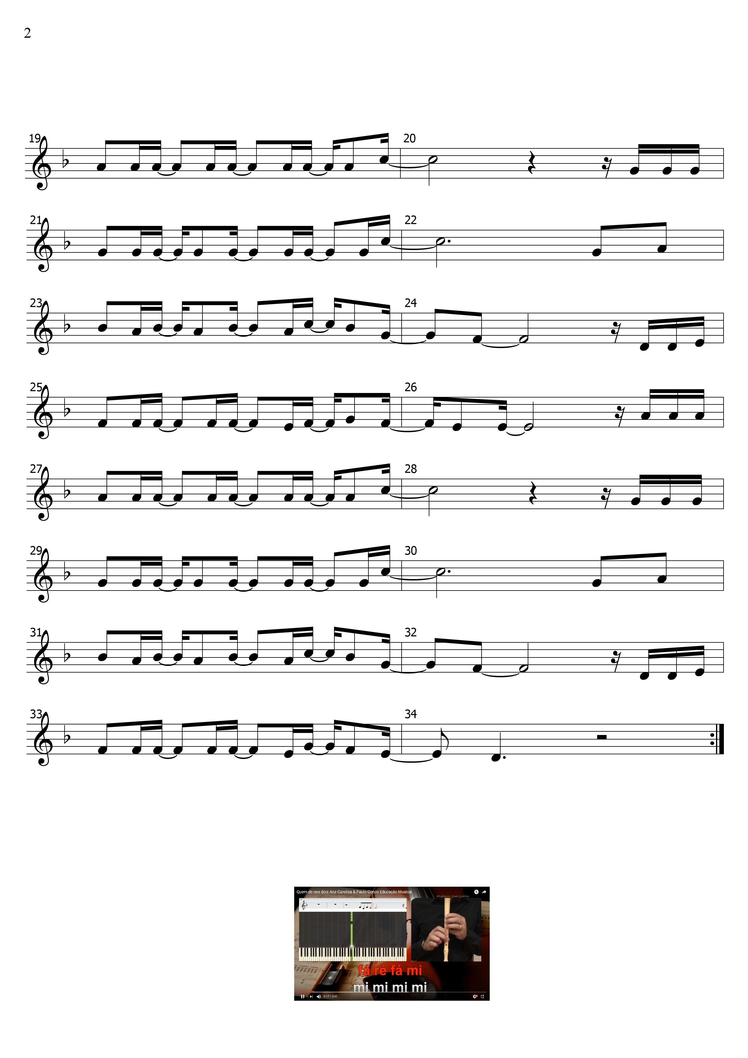 Quem De Nos Dois Sl Ed Musical Pag 2 2 Educacao Musical