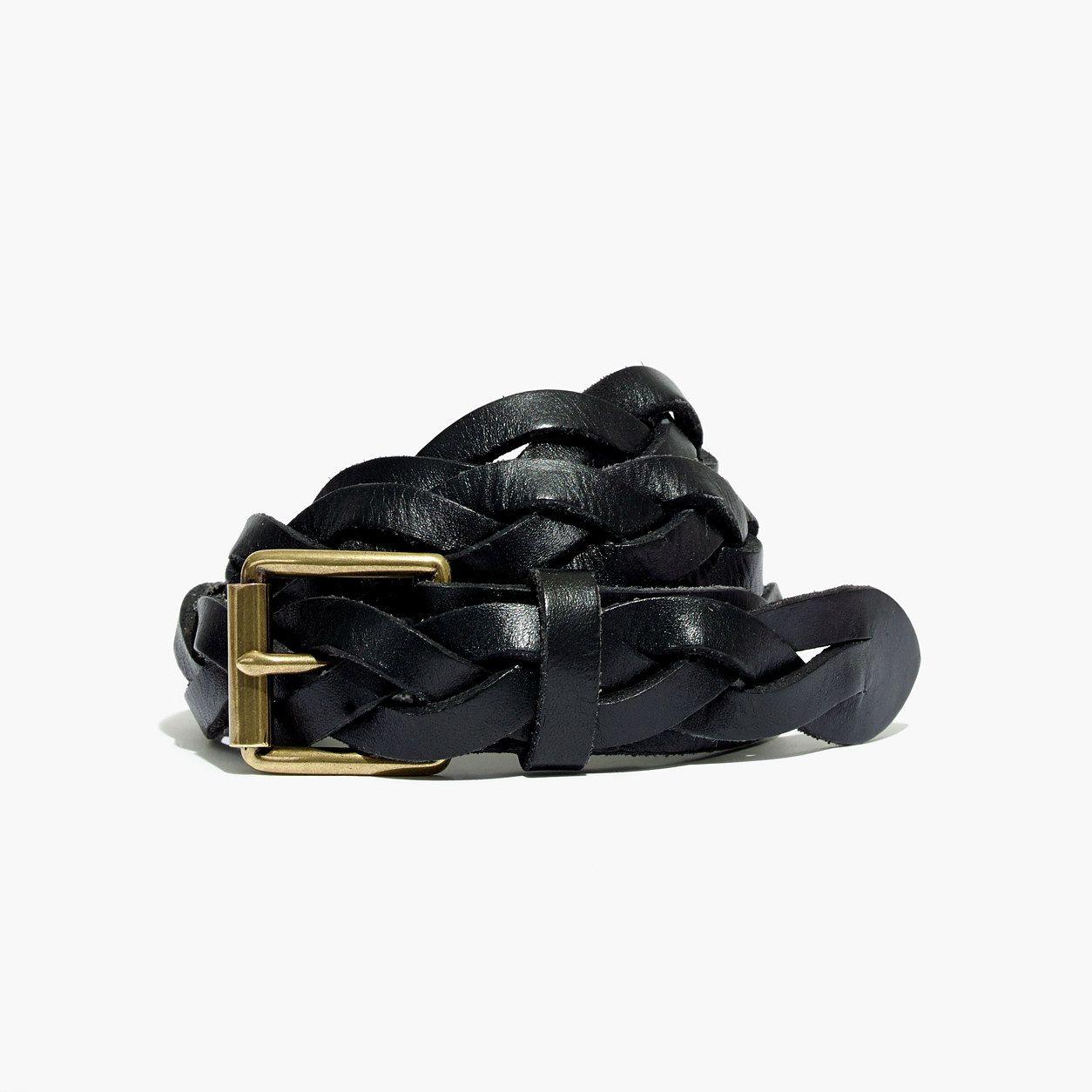 Madewell Plaited Leather Belt