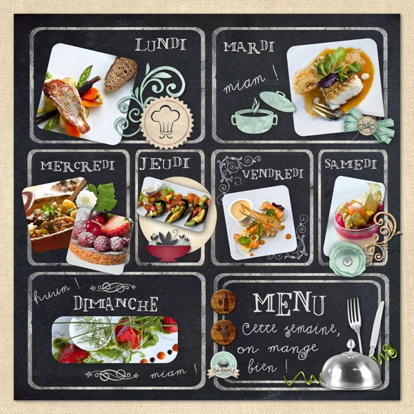 menu  vin  template  scrap  paysage  table  cuisine  digital  cook