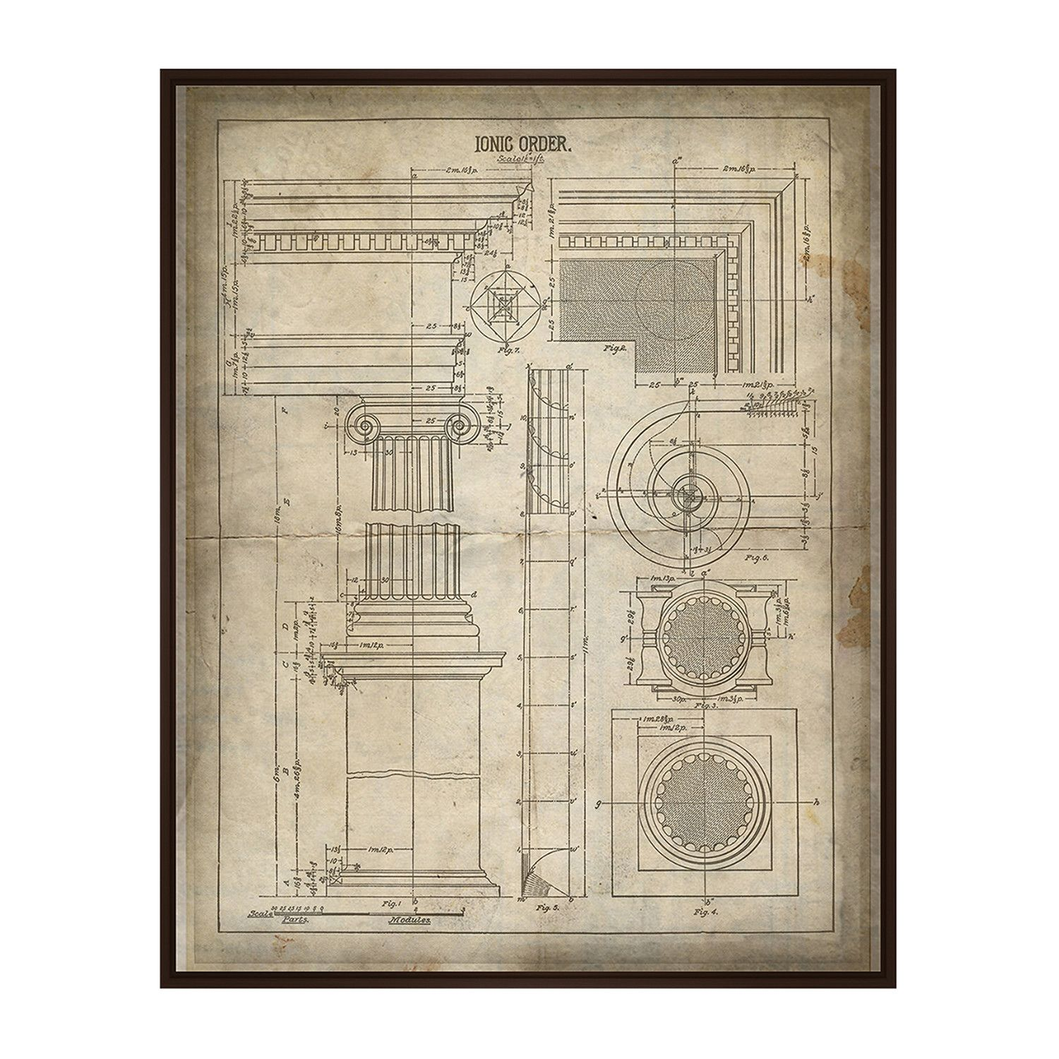 Ionic Order This Ionic Order is a distinct gallery wrapped giclee ...