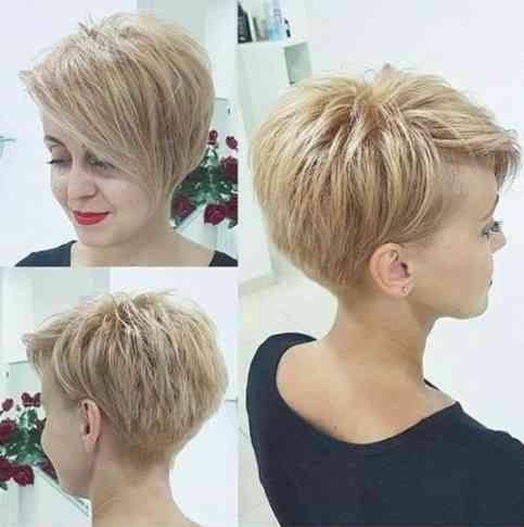 Aktuelle Kurzhaarfrisuren Frauen Haarschnitt Pixie Haarschnitt Kurzhaarschnitt