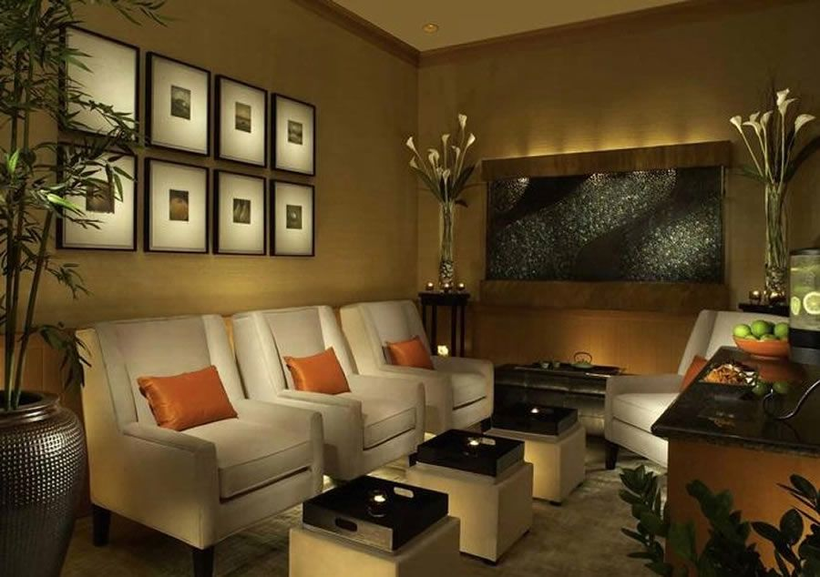 Relaxing Rooms spa rooom |  design of cordevalle resort san martin, california