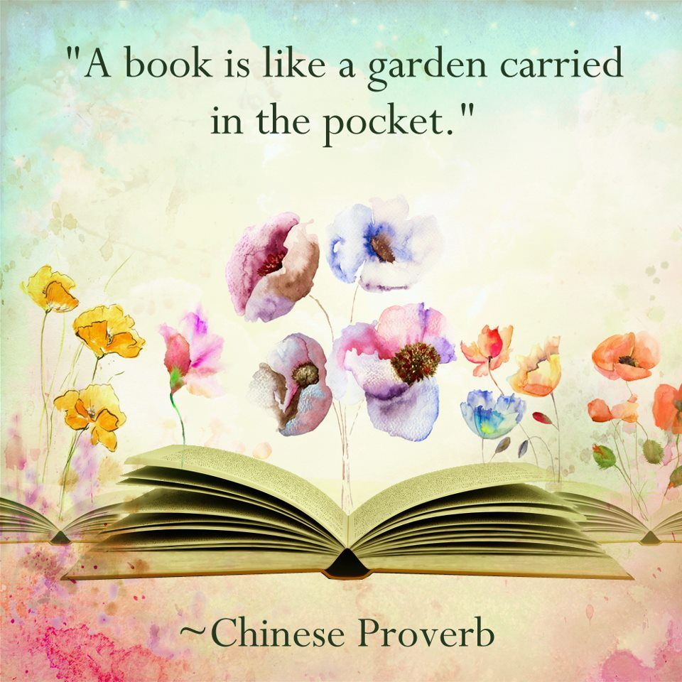A book is like a garden carried in a pocket in 2019