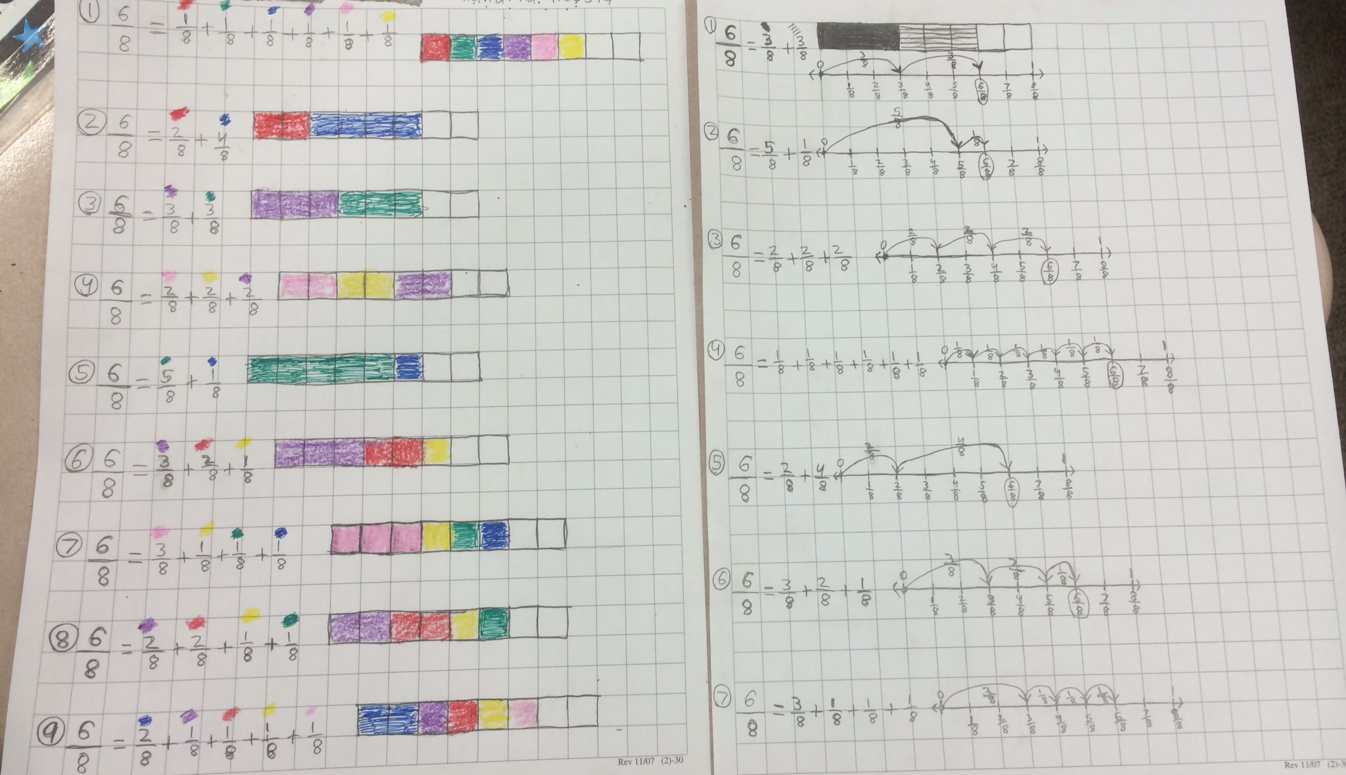 4nf3 Decomposing Fractions With Models