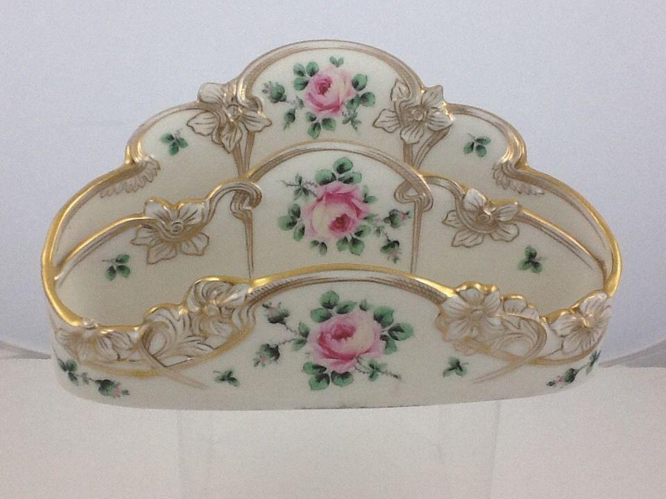 Vintage Lenox Gilman Collamore Porcelain 19th Century letter Holder Desk Accesso | eBay