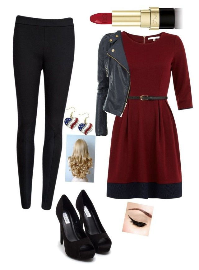 """""""Hotness"""" by joclynfletcher ❤ liked on Polyvore featuring косметика, Uttam Boutique, Ted Baker, Nly Shoes и Dolce&Gabbana"""