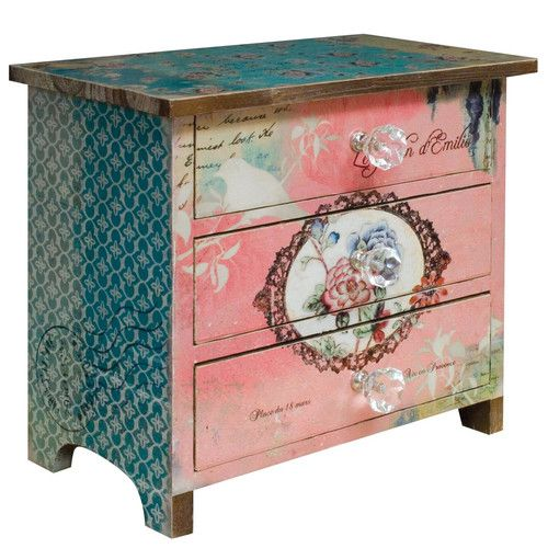 Found it at Wayfair.co.uk - Accessory Box | Decoupage - Stencil ...