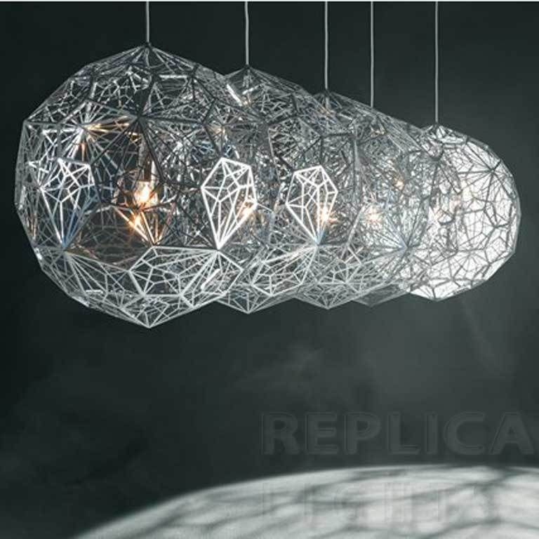 Replica tom dixon etch web pendant platinum premium tom dixon etch lights replica tom dixon etch web pendant audiocablefo