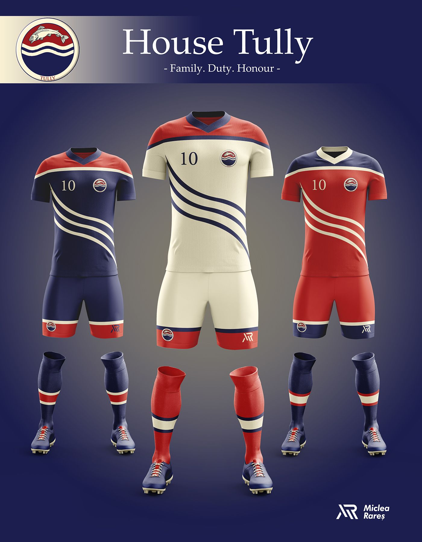 Concept - Game of Thrones football kits on Behance  2ae65d784d29a