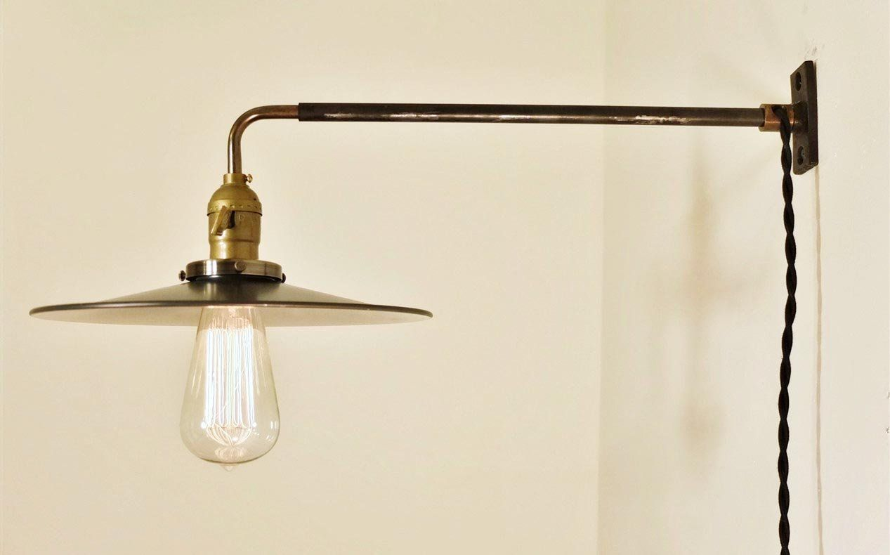 Beautiful Plug In Hallway Light