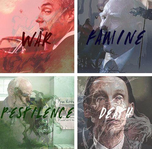 War famine pestilence death