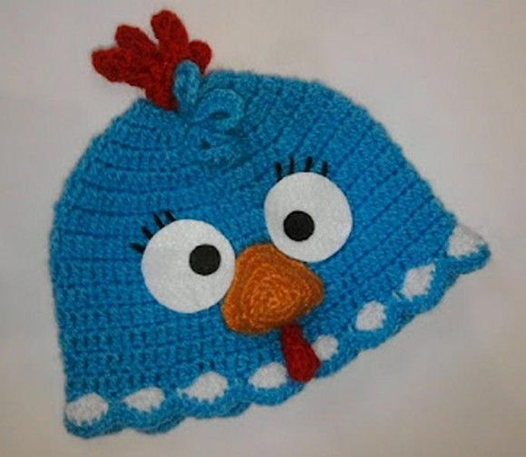 ✰touca  gorro galinha pintadinha✰ Crochet Animal Hats 33d04ed4a94