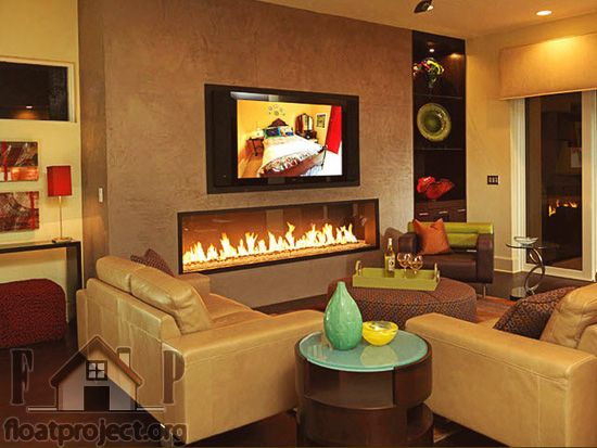 built-in-fireplace   Home Designs Project