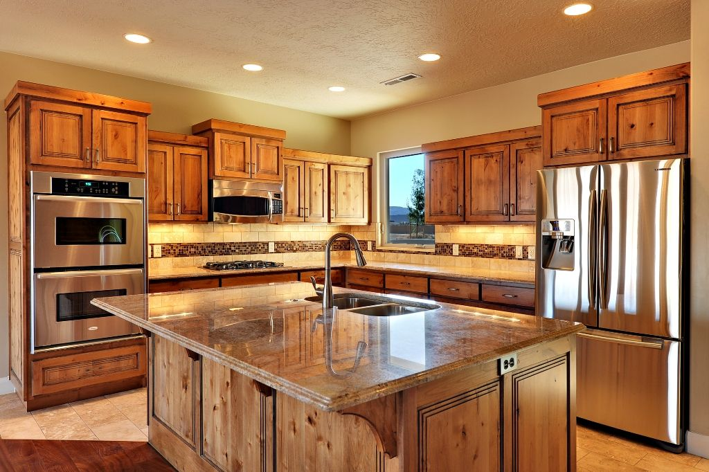 Cabinets Rustic Cherry Kitchen I Actually Think Its Knotty Alder Cherry Cabinets Kitchen Metal Kitchen Cabinets