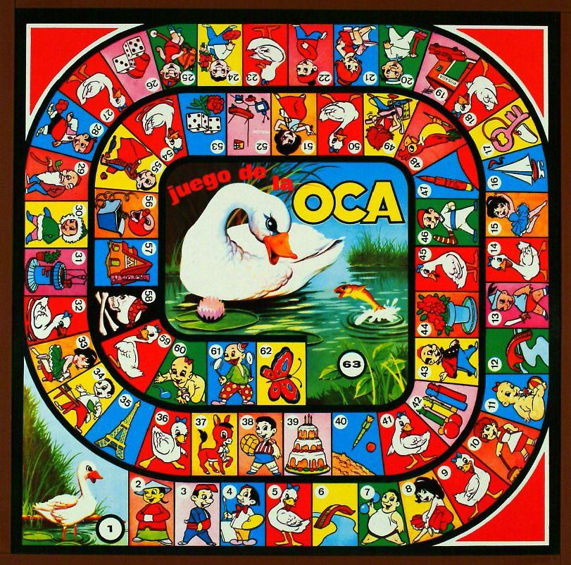Juego de la oca game of the goose jeu de l 39 oie gioco dell 39 oca giochi dell 39 oca - La oca juego de mesa ...