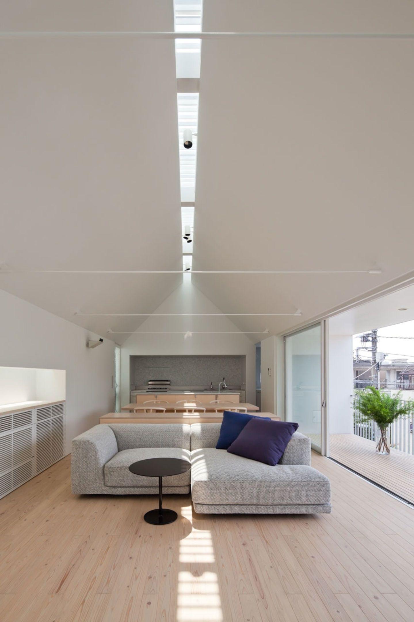 Yaita and Associates House in Yakumo Homes Pinterest