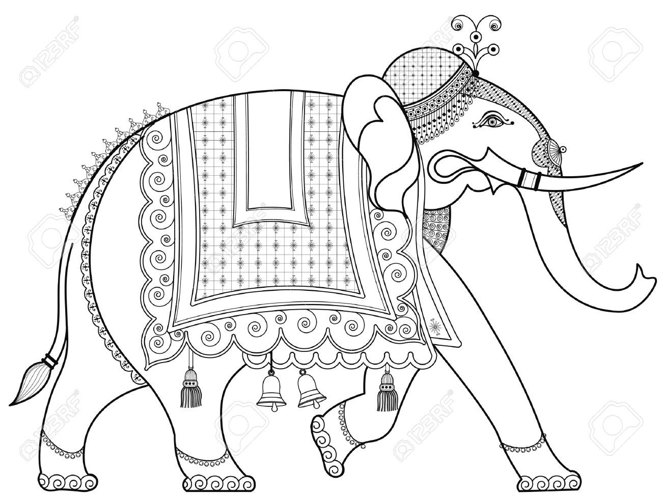 decorated indian elephant - Google Search | India | Pinterest ...