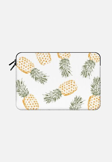 new product 1b0f7 94cc9 Pineapple Macbook Pro 13 Sleeve by Rui Faria | Casetify | random in ...