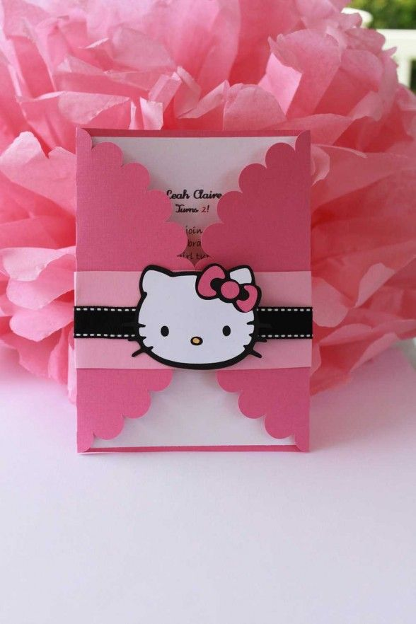 Hello kitty birthday invitations invitations ideas birthday party hello kitty birthday invitations invitations ideas filmwisefo