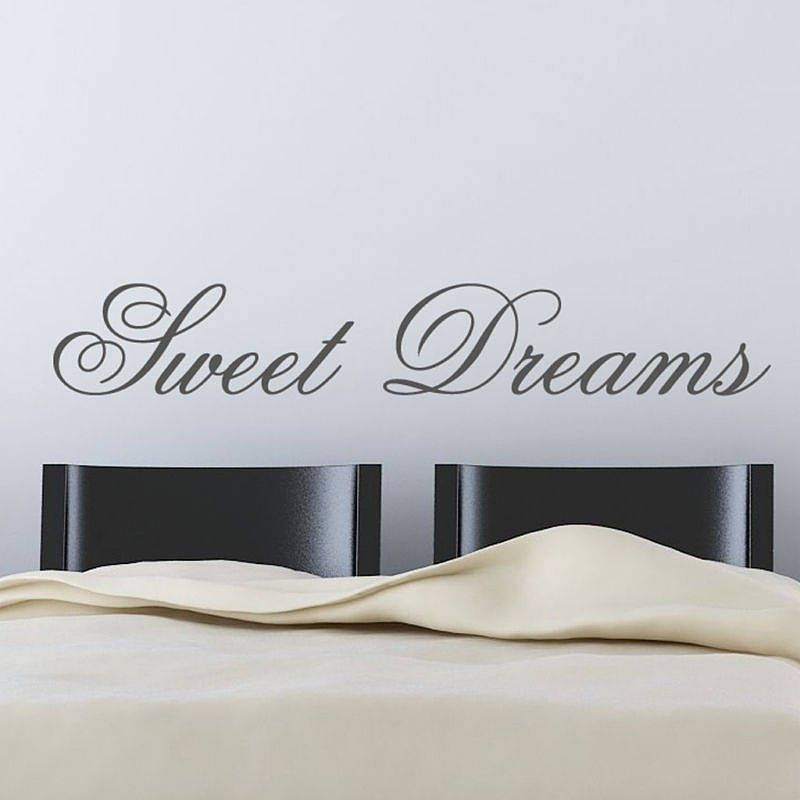 U0027sweet Dreamsu0027 Wall Stickers By Parkins Interiors | Notonthehighstreet.com