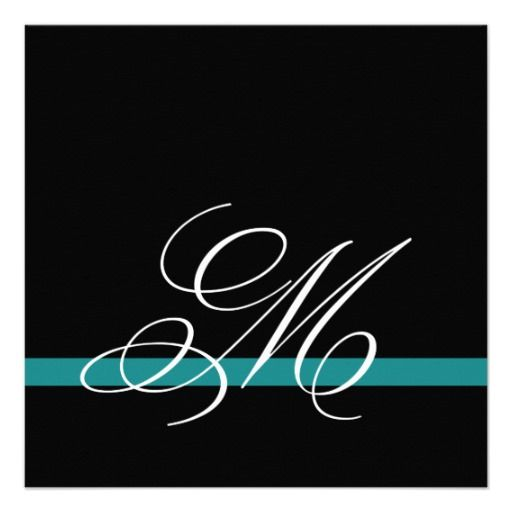 Discount DealsElegant Swirl Monogram Wedding Invitations Jadein