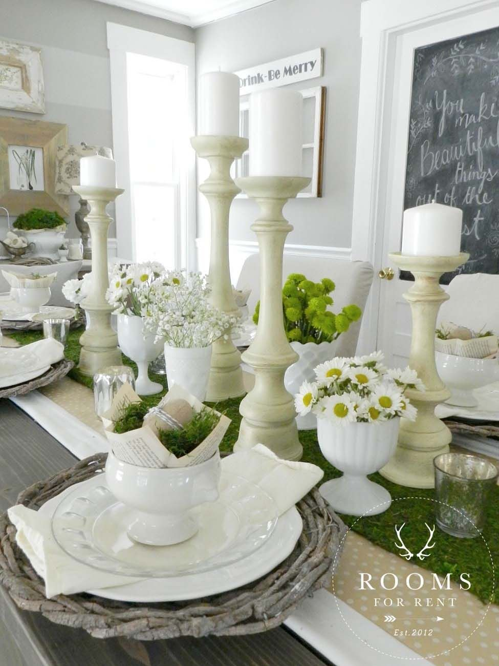 30 incredibly stylish and inspiring easter table centerpiece ideas rh pinterest com