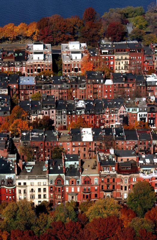 Boston Historic Home Architecture-Back Bay
