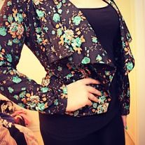 I want this. It's the cutest floral blazer I've ever seen