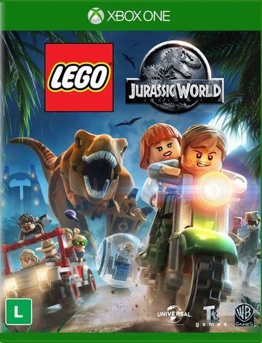 Lego Jurassic World Xbox One Covers De Videojuegos Ntsc Y Pal