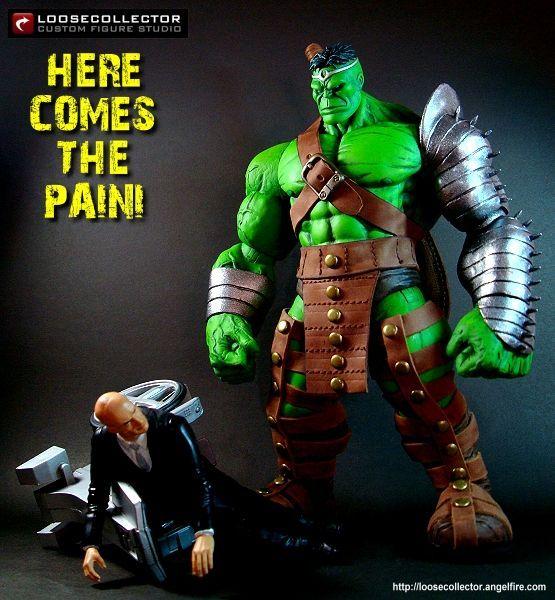 King Hulk Marvel Legends Custom Action Figure Custom Action Figures Marvel Action Figures Action Figures
