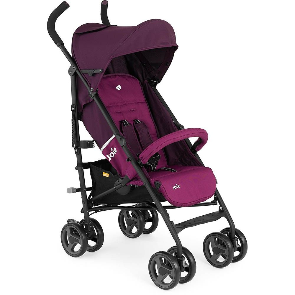 Joie Nitro LX Stroller (Mulberry) Features: •Suitable from ...