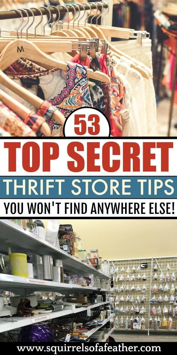 53 Killer Thrifting Tips the Pros Use to Score Big at the Thrift Store