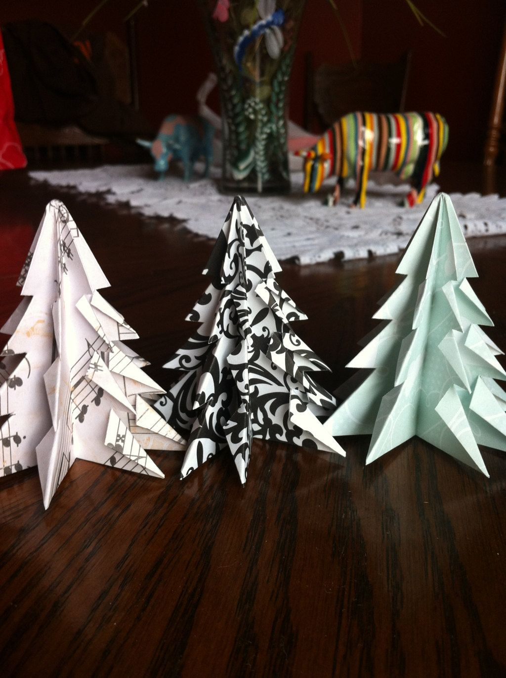 Easy and rich - Origami diamond ornaments. Christmas decoration. Ideas for  Christmas - YouTube | 1371x1024