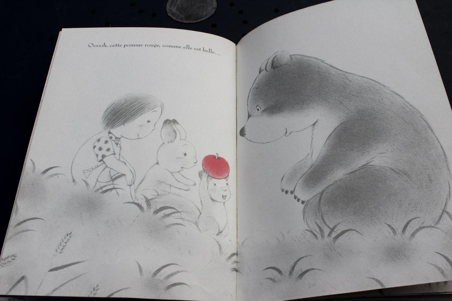 [Avis livre] La pomme rouge {Chut, les enfants lisent 3