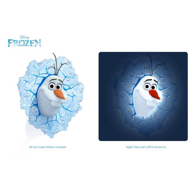 Disney frozen olaf 3d deco wall light now available at www disney frozen olaf 3d deco wall light now available at totalgiftz mozeypictures Images