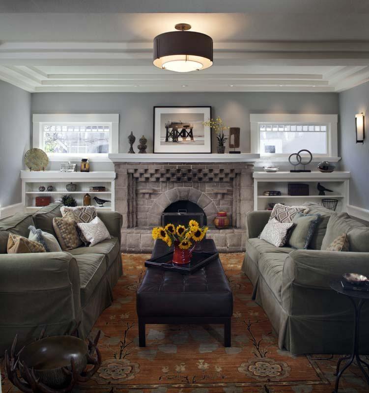 Craftsman style home interiors the craftsman style home into a family friendly - Craftsman style house interior ...