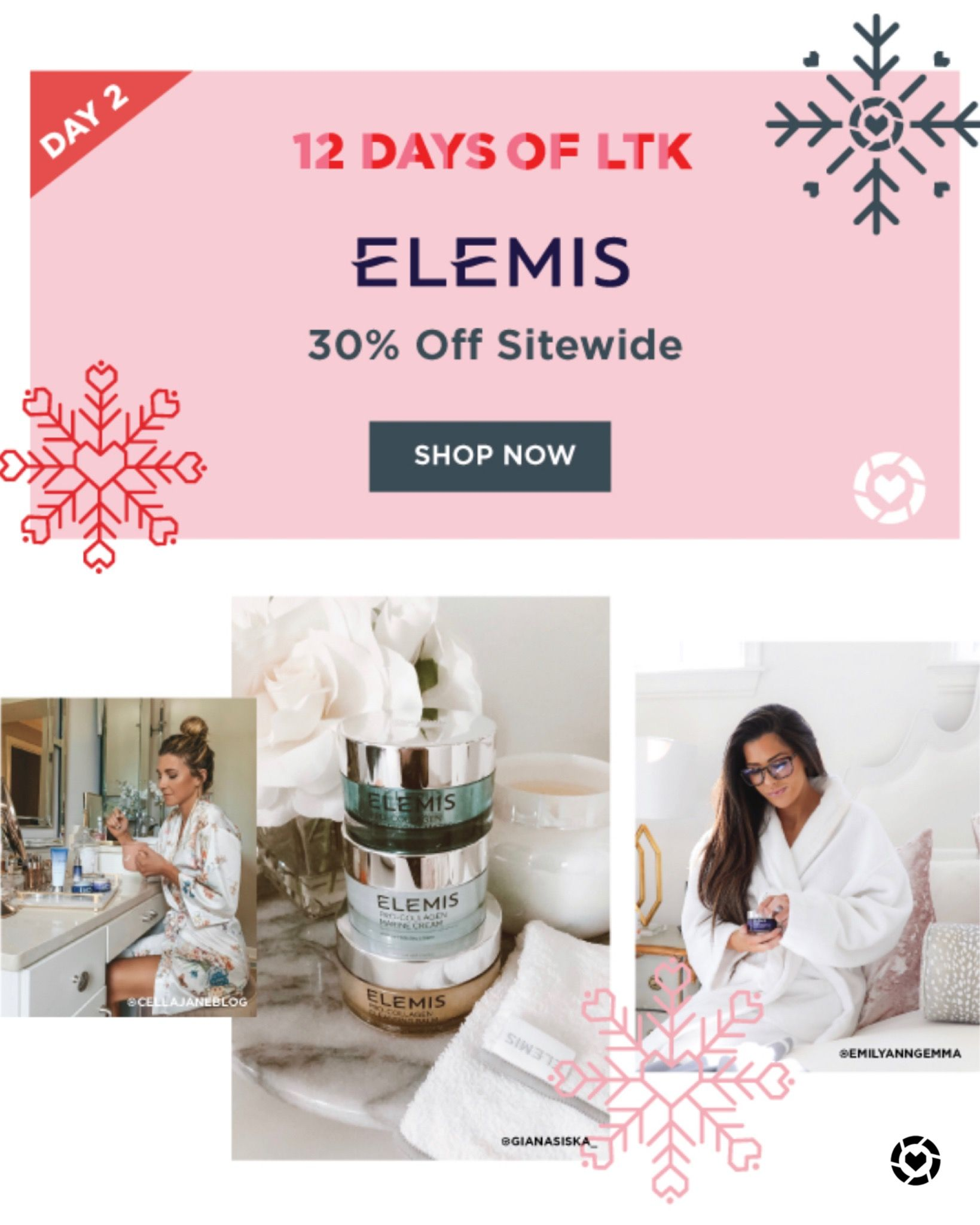 Elemis 30 Off Sale 1 Day Only Best Gifts For Her How To Memorize Things Day