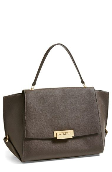 Zac Zac Posen 'Eartha' Saffiano Leather Shoulder Bag available at #Nordstrom