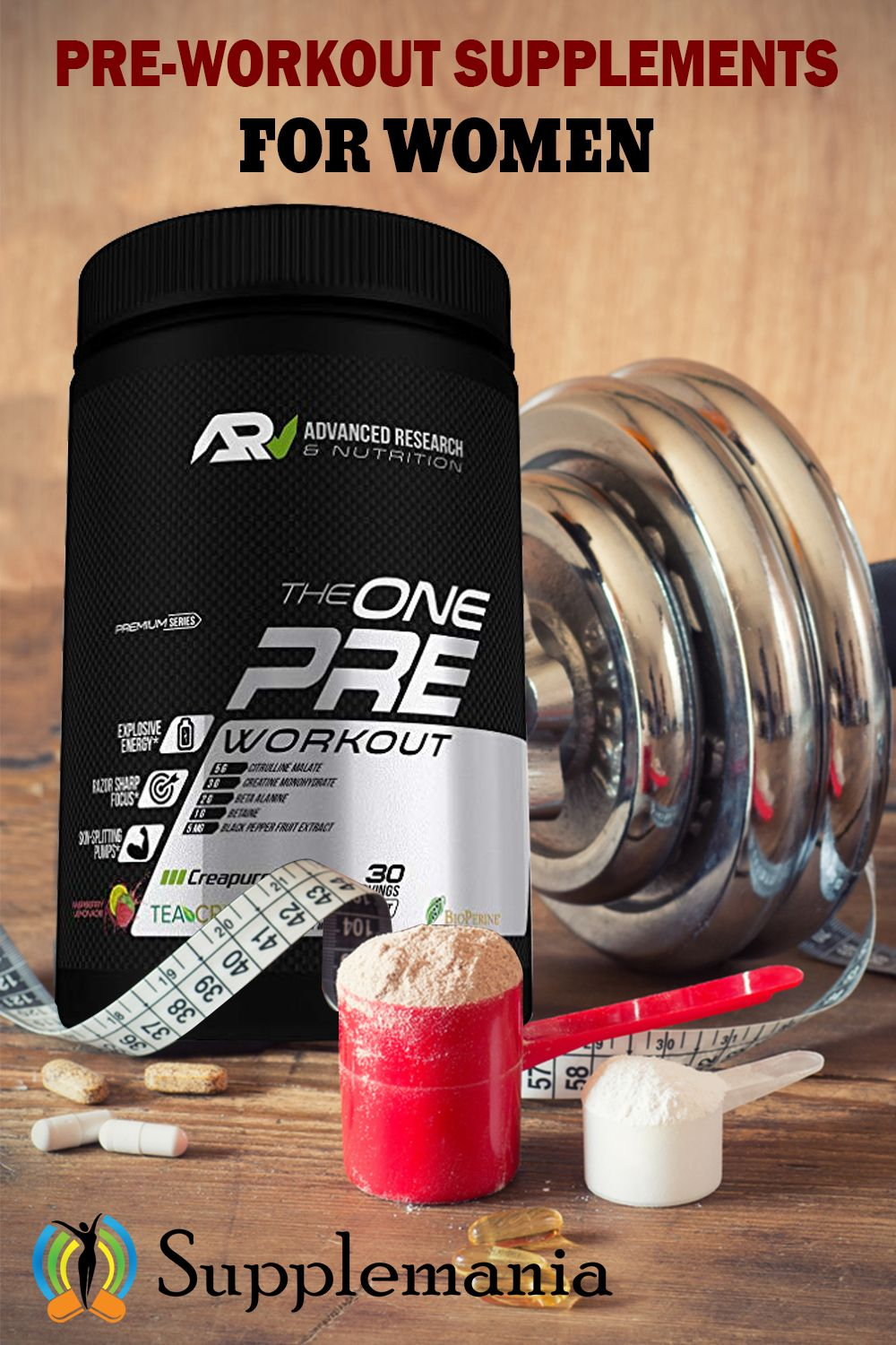 Pre Workout Supplements For Women June 2020 Top 20 Reviewed Preworkout Best Pre Workout Drink Workout Supplements