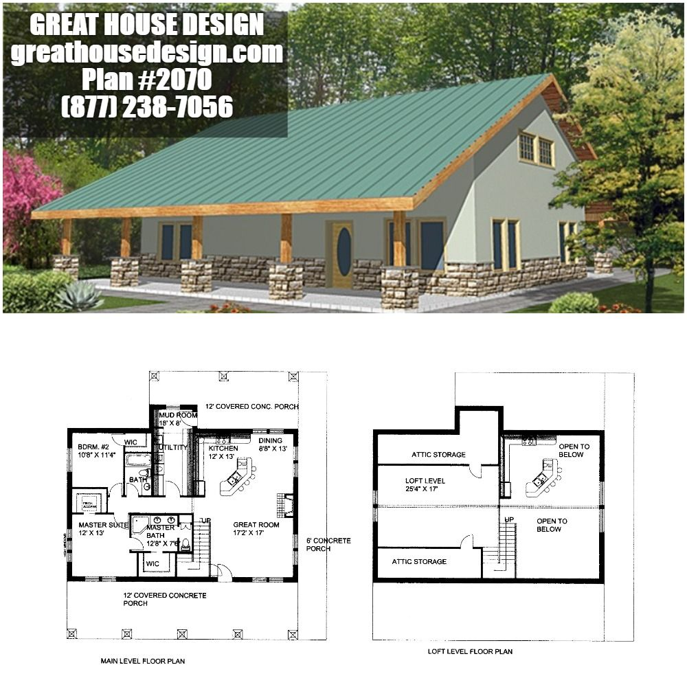 Home Plan 001 2070 Home Plan Great House Design Bungalow House Plans Barn House Plans House Design