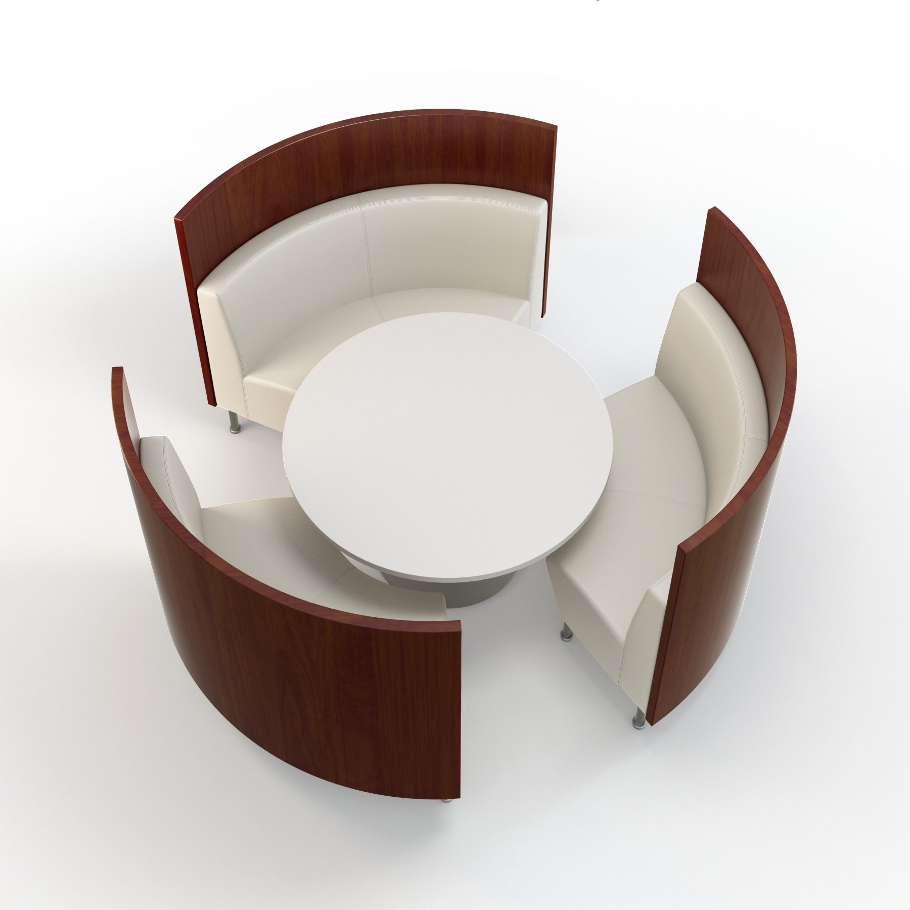 Sculpture Of Intimate And Affectionate Dining Atmospheres With Curved  Banquette Seating Ideas